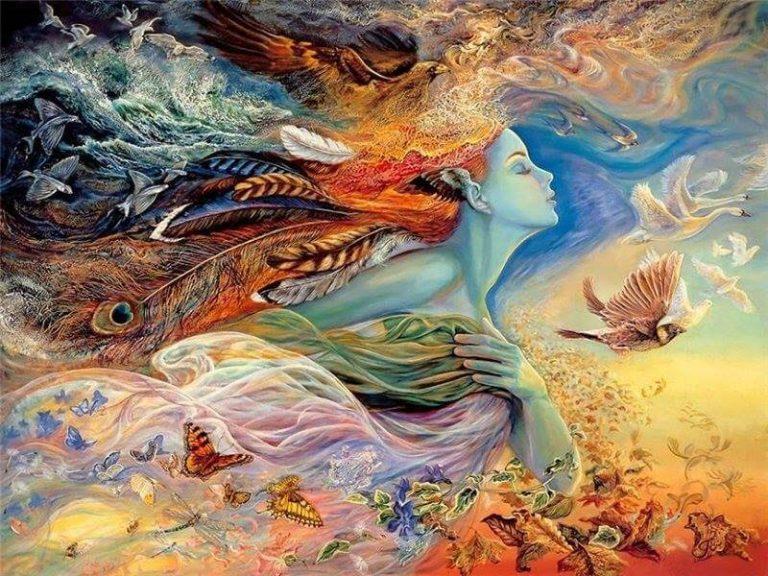Evolutia sufletului tau, Femeie
